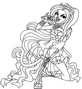 monster high bonita femur coloring pages coloriage catty noir coloriages 224 imprimer gratuits