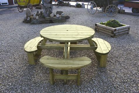 round table with bench seating round table bench seat l nwtt