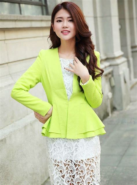 moda coreana 30 modelos de blazers para mujeres mundo moda coreana 50 modelos de blazers para chicas mundo