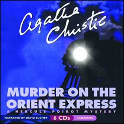 murder on the orient express books murder on the orient express audio book cds unabridged