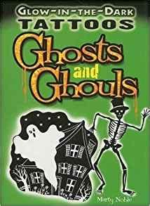 glow in the dark tattoos amazon glow in the dark tattoos ghosts and ghouls dover tattoos
