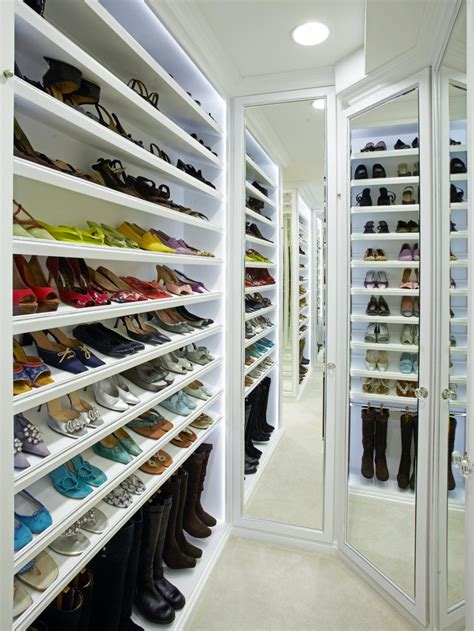 shoe shelving ideas 25 shoe organizer ideas hgtv