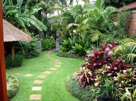 Small Tropical Backyard Ideas Tropical Backyards Well Maintained Tropical Backyard Garden In Your Mind For Our Backyard