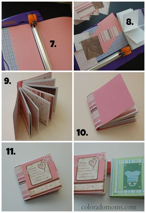 How To Make Handmade Photo Albums - 25 best ideas about mini photo albums on mini