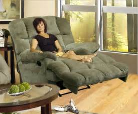 jackpot reclining chaise in or chocolate microfiber