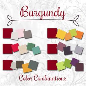 what color goes well with burgundy shoppe s spotlight color of the week burgundy