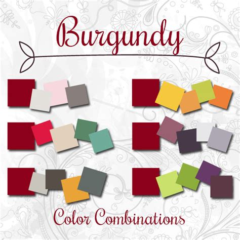 What Colors Go With Burgundy by Shoppe S Spotlight Color Of The Week Burgundy