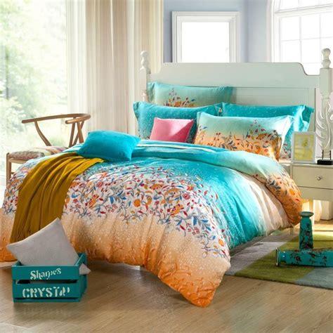 teal and orange bedding blue and orange comforter sets car interior design