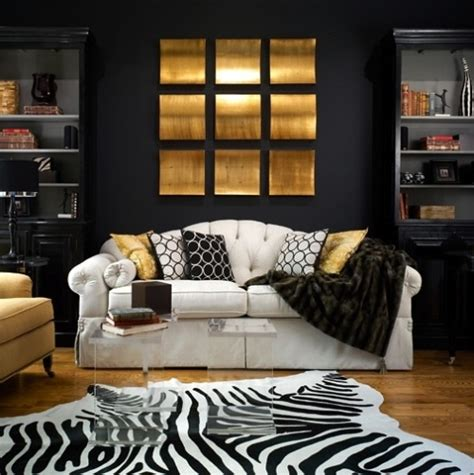 black white and gold room 20 inspire white and black living room designs