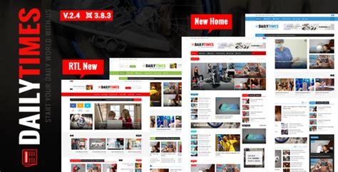 themeforest dailytimes news and magazine joomla