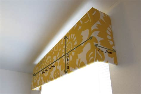 Make A Cornice inspired whims living room update diy cornice box