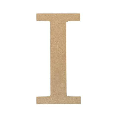 I Decorative 10 quot decorative wood letter i ab2033 mardigrasoutlet