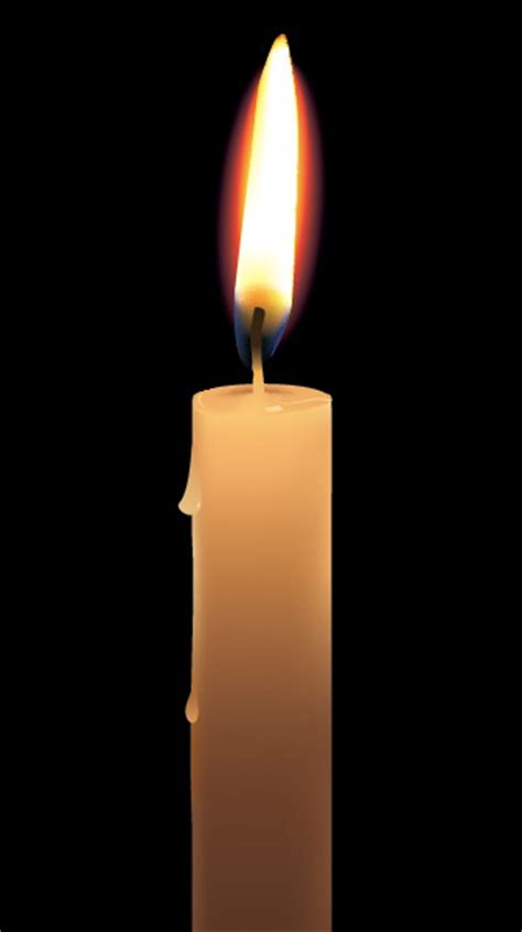 tutorial vector flame create a photo realistic candle with gradient mesh