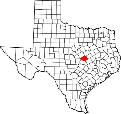 map of bell county texas file map of texas highlighting bell county svg wikimedia commons