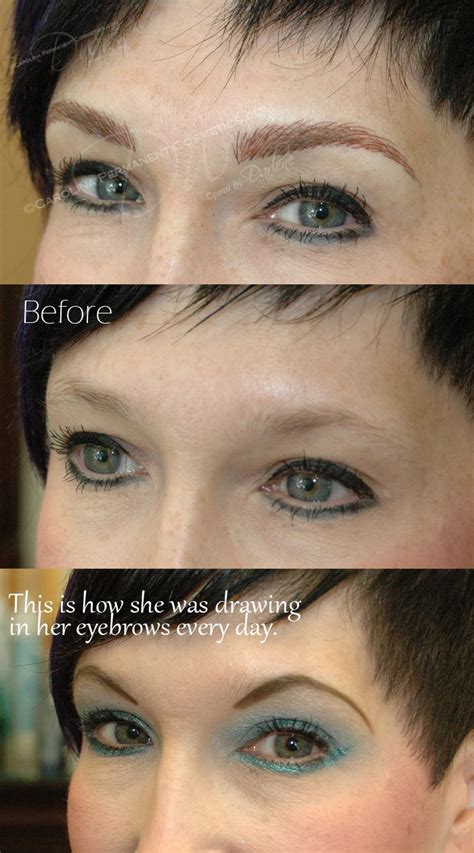 natural eyebrow tattoo 704 796 8221 permanent eyebrows what a