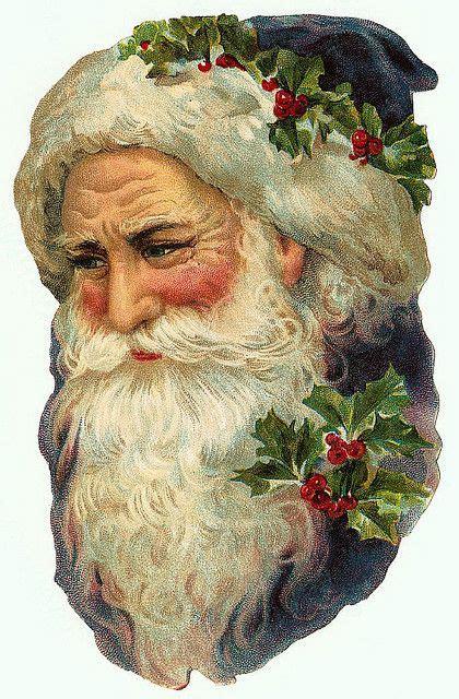 christmas ephemera  paper father christmas  gabriel