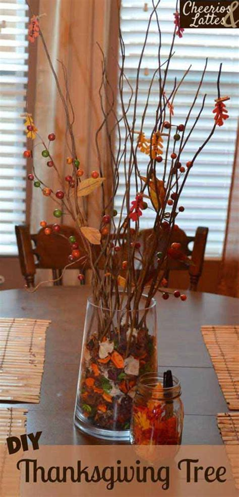 great diy decor ideas    thanksgiving holiday