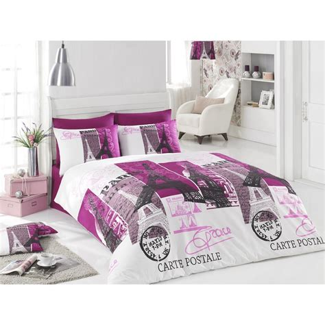 paris twin bedding 100 cotton 3pcs paris carte postale single twin duvet