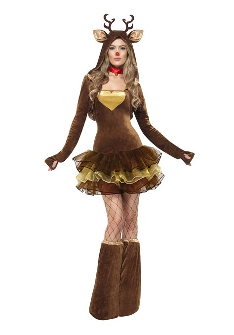 womens reindeer costume