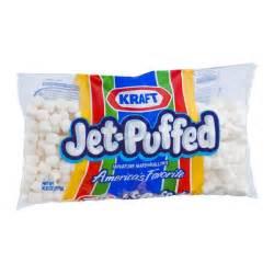 Artificial Pumpkins Kraft Jet Puffed Marshmallows Mini