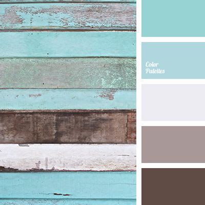 soft grey color cool palette in which muted turquoise and soft blue colors