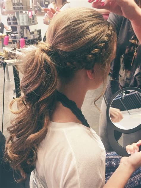 Hair Prom Hairstyles by Best 25 Formal Ponytail Ideas On Prom