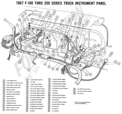 motor repair manual 1984 ford e250 instrument cluster ford truck technical drawings and schematics section h wiring diagrams