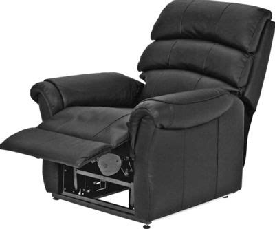 santos recliner chair santos recliner chair and footstool chocolate at
