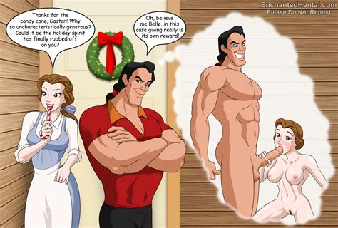 Beauty And The Beast Christmas Disney Enchantedhentai Com
