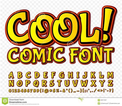 font pop art high detail yellow comic font alphabe comics pop art