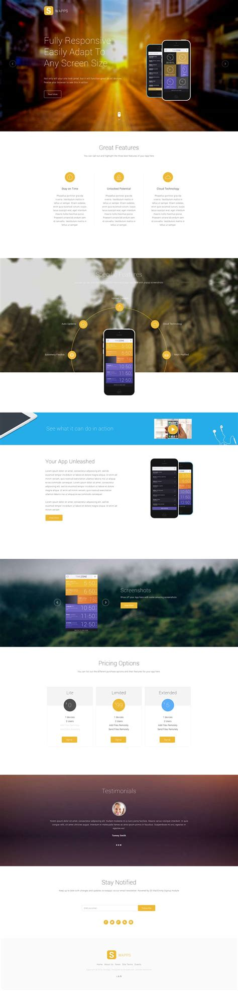 Play Store Like Template Swapps Joomla App Store Play Store Application Template