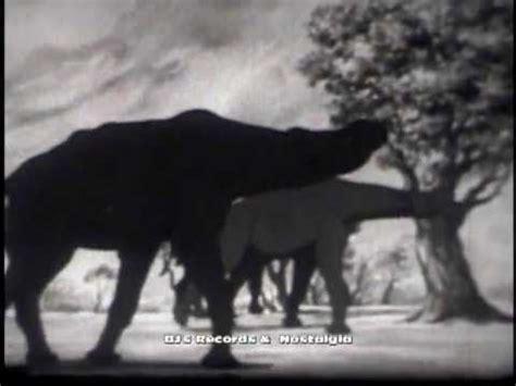 film dinosaurus youtube journey into time 1960 animated classroom film on