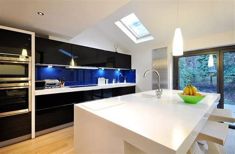 Kitchen Designs With Black Cabinets kitchen backsplash ideas a splattering of the most