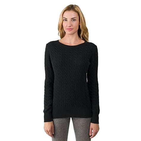 neck pullover 2 ply crew neck pullover sweater for