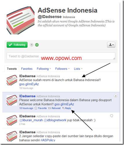 adsense helpline resmi google adsense support bahasa indonesia