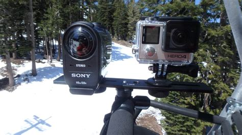 Fdr X1000v sony hdr as200v review for snowboarders