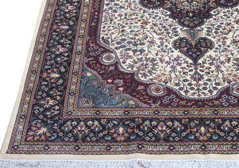 Ivory 6x9 Area Rugs Sale Silk Kashmir Cheap Rugs For Sale Rugs For Sale
