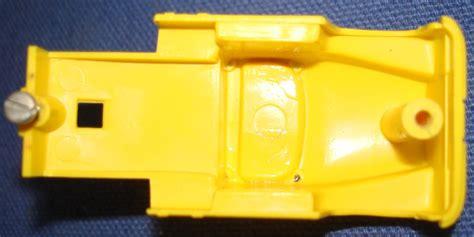 Abs Lemon Outer clear roof lemon yellow ho slot car semi