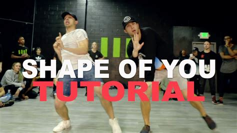 tutorial dance quot shape of you quot ed sheeran dance tutorial matt