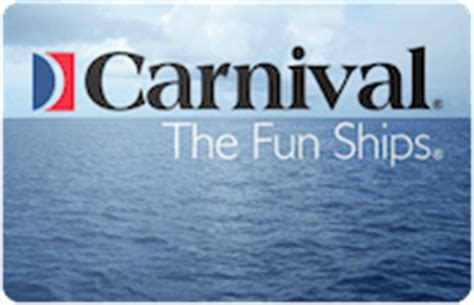 Carnival Cruise Gift Cards Discount - buy carnival cruises gift cards discounts up to 35 cardcash