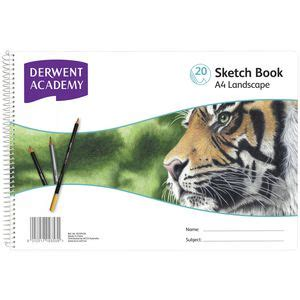 derwent black book sketchbook a4 landscape derwent academy a4 sketch book landscape officeworks