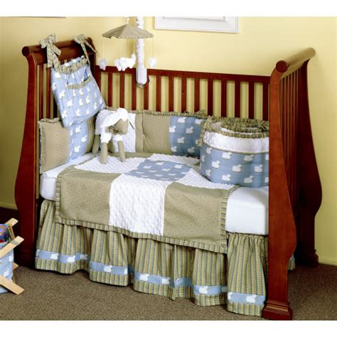 Sheep Baby Bedding by Counting Sheep 4 Baby Bedding Set By Bebe Chic