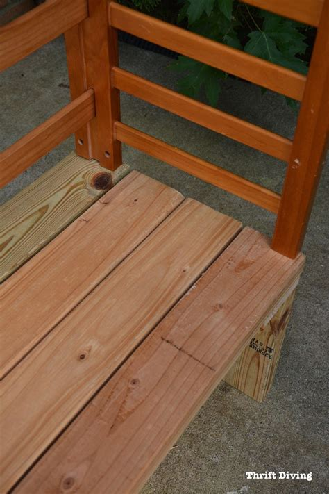 bed bench diy repurposed toddler bed becomes a diy potting bench