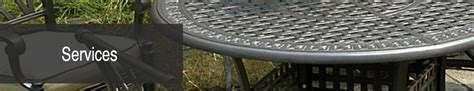 patio furniture refinishers services patio furniture refinishers