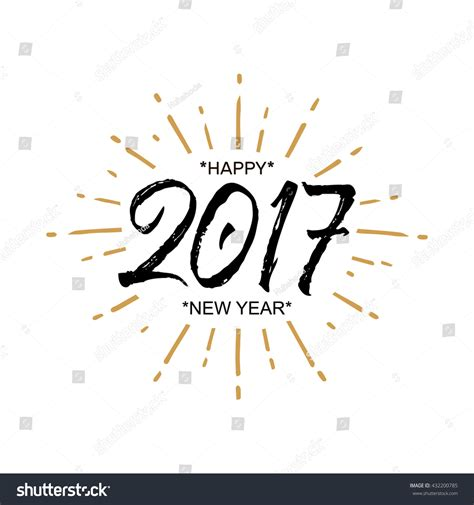Happy New Year Word Word New Year Invitation Merry Happy New