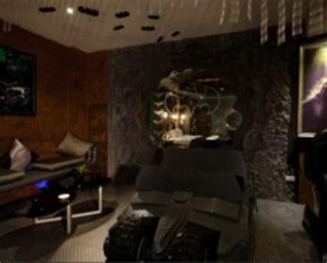 batman living room taiwan hotel features batman room pics psfk