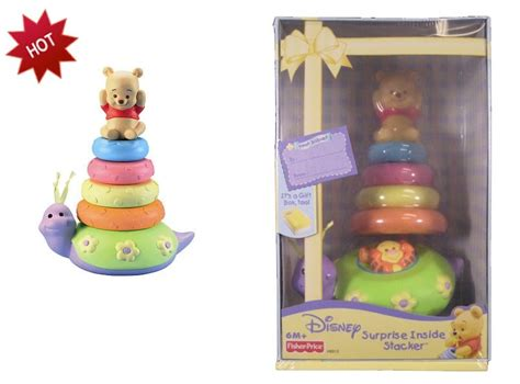 Neck Ring Bayi Pelung Leher Winni The Pooh my baby world disney winnie pooh baby ring stacker gift box