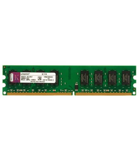 Ram Pc Kingstone kingston 2gb ddr2 ram kvr667d2n5 2g buy kingston 2gb ddr2 ram kvr667d2n5 2g at low