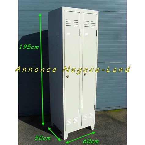 armoire metallique 2 portes armoire vestiaire m 233 tallique occasion bs17 jornalagora