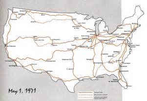 Amtrak Train Route Map by Planes Trains And Running Amtrak Service And Fares 1